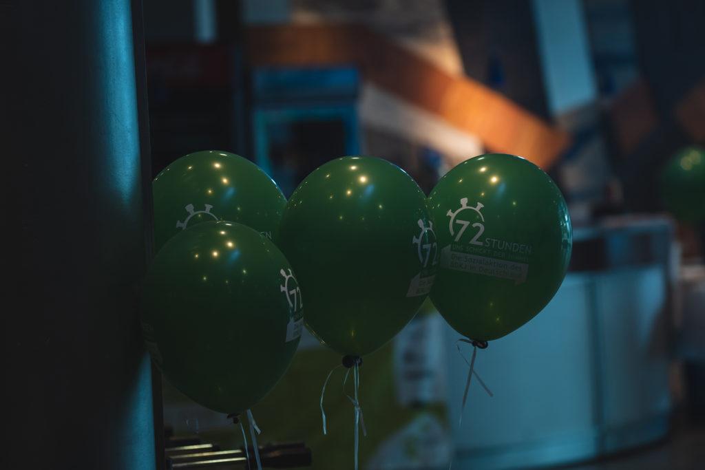 72-Stunden-Luftballons