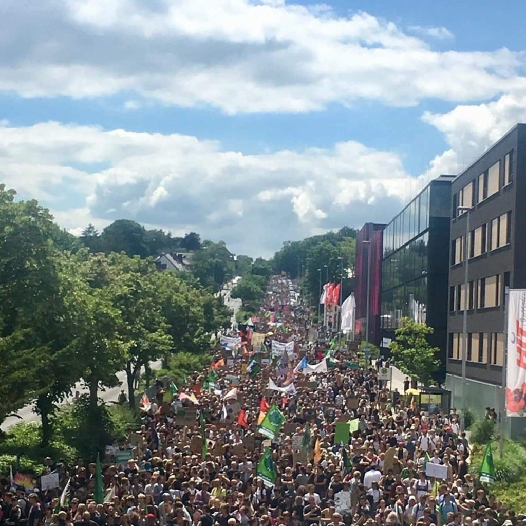 Internationale Fridays for Future Demo in Aachen am 21.06.2019