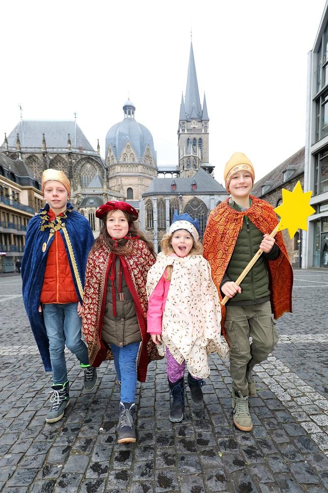 Die Bundesweite Aussendung Aktion Dreikönigssingen 2020/2021 findet in Aachen statt.
